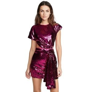 Alice McCall Orchid Sequin Mini Knot Dress